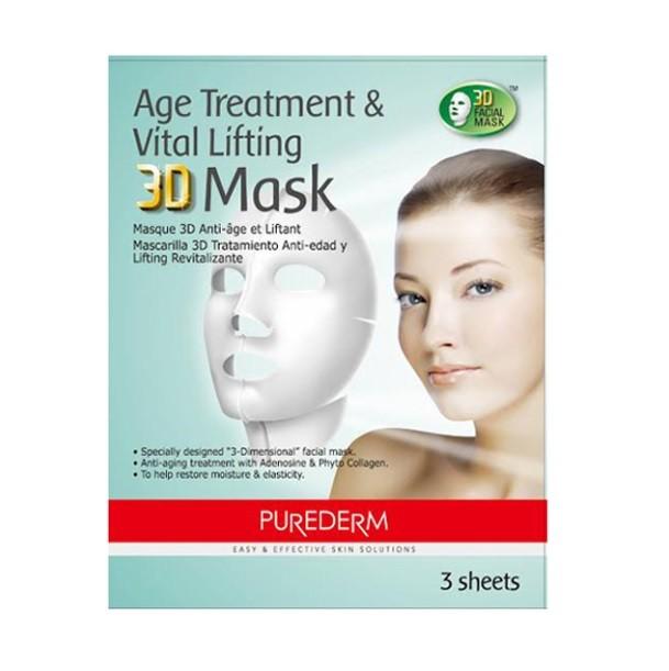 Mascara 3D Celulosa Antiage