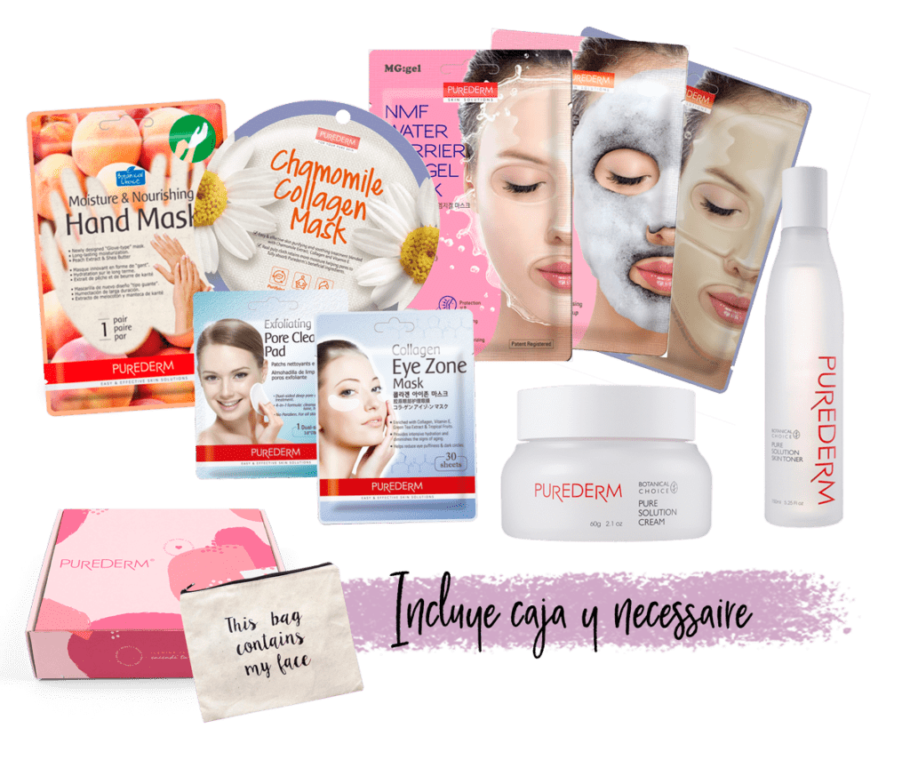 Set Mamá Purederm Beauty Box